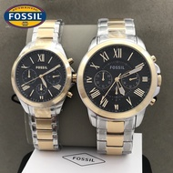 FOSSIL Couple Watch Original Pawnable Stainless FOSSIL Watch For Women FOSSIL Watch For Men Original