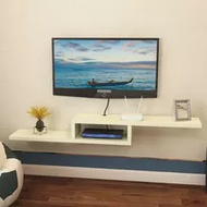 Simple modern shelf rack TV set box shelf wall hanging TV cabinet decorative frame