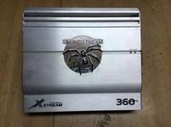SOUNDSTREAM 美國毒蜘蛛 360 2聲道擴大機