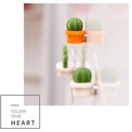 2021ตกแต่งVintage Cactusตู้เย็นสติกเกอร์สีเขียวหัวเข็มขัดแม่เหล็กสติกเกอร์แม่เหล็ก6 PC Декор Дома Новый Год