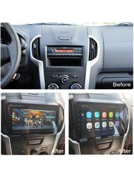 สำหรับIsuzu DMAX 2015-2018 2 DINวิทยุรถAndroid 8.1 9 นิ้วหน้าจอสัมผัสWIFI GPSนำทางมัลติมีเดียผู้เล่น