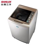 台灣三洋17公斤超音波定頻單槽洗衣機(內外不鏽鋼)SW-17AS6