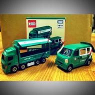 TOMICA台灣限定郵政車(1組2台)(多美郵局車)