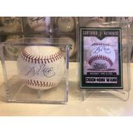 王建民初登板MLB認證簽名球 紐約洋基 中華隊