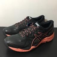 [麥修斯]ASICS GEL-FujiTrabuco 6 G-TX 黑橘 女款2 運動鞋 T7F5N-9006