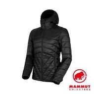 【Mammut 長毛象】Rime IN Hooded Jacket AF Men 保暖連帽化纖外套 男款 黑色 #1013-01210
