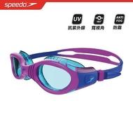#SPEEDO SD811595C586 兒童 泳鏡Futura Biofuse Flexiseal紫/薄荷綠