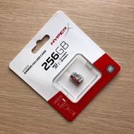HyperX Gaming MicroSDXC UHS-I (U3)(A1) 256GB 遊戲裝置記憶卡
