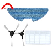 For Proscenic Vacuum Cleaner Filter+Mop Cloth+Side Brushes Neweer