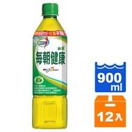 【免運直送】每朝健康綠茶900ml(12瓶/箱)