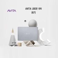 Avita Liber V14-R7 (GRY/BLK/PPL) 14'' FHD LAPTOP ( AMD R7 | Backlit Keyboard )