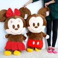 正版迪士尼米奇米妮娃娃(大) 103cm 米奇 米妮 布偶 玩偶 造型娃娃 擺飾 抱枕 娃娃【B060729】
