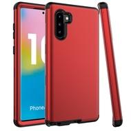 Samsung Galaxy Note10+ Note10 Note9 Note8 雙層保護殼硅膠防摔手機殼背蓋