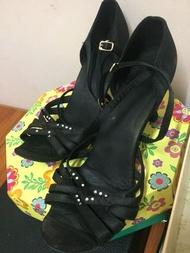 國標舞鞋高跟涼鞋 39號 二手