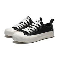 Shoestw【6922200120】KANGOL 餅乾鞋 帆布鞋 黑色 女生尺寸