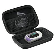 血氧儀收納包   適用于魚躍YX303/301血氧儀收納包指夾式測血氧飽防壓 便攜保護盒 bw5515
