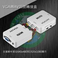 VD-204 VGA轉AV訊號轉接盒