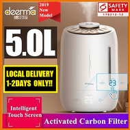RC-Global Deerma DEM - F600 Humidifier 5L Large Capacity Air Purifier Aromatherapy Aroma Diffuser Purifying Mist Maker Household Air-conditioned Rooms Office SG Safety Mark Plug (Local Delivery 1-2 Da