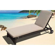 【南洋風休閒傢俱】海灘椅系列-編織躺椅 戶外海灘躺椅 游泳池躺椅  鋁架躺椅 664-4