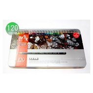 【美術社直營p】卡達 CARAN d'ACHE PABLO  專家級油性色鉛筆120色 祕密花園手繪本 666420