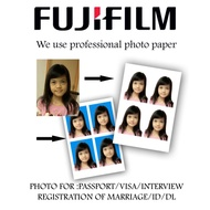 Passport Size Photo Printing/ID Photo/Cuci Gambar Passport