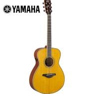 【YAMAHA 山葉】FS-TA VT TransAco 電民謠木吉他 復古原木色(原廠公司貨 商品保固有保障)