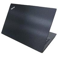 EZstick Lenovo ThinkPad L390 黑色 Carbon 立體紋機身貼