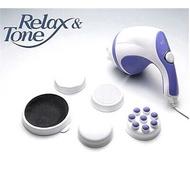 RelaxTone推脂器電動按摩器推脂按摩器碎脂按摩器瘦身神器 贈送5個按摩頭