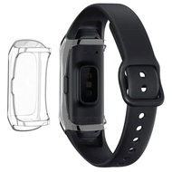 Case for Samsung Galaxy Fit SM-R370 Smart Bracelet, 360 Degree TPU Plating Protective Shell Compatible for Galaxy Fit SM-R370 Smartwatch
