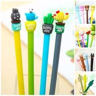 เกาหลีหมีกีวีผลไม้น่ารัก Cactus GEL ปากกา Kawaii Rainbow แตงโมมะนาวโรงเรียนซัพพลายเครื่องเขียน Store เครื่องเ...