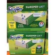 SWIFFER WET CLOTH 濕除塵紙 60張入 除塵紙