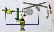二段式高水箱另件 蹲式馬桶省水零件 2段式馬桶水箱另件 和成型馬桶水箱另件 蹲式水箱零件 S41馬桶省水配件 電光 凱撒