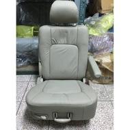 中華三菱MITSUBISHI@幸福力SAVRIN~全新原廠第二排座椅~米色皮椅