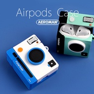 airpods pro 保護套 拍立得 相機 單眼 IG 相機 instagram DJ 柴犬 柯達 底片 藍白