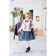 【HAHA小站】LA11402 麗嬰 正版 TOMY 多美 LICCA 莉卡娃娃 LD-17 BIJOU 甜心騎士 服飾
