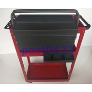 (一五金) P315加高三層工具車+掛板+零件盒+大工具箱 多功能零件車 三層貨車維修車