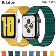 ☉สายสำหรับ AppleWatch แบบ Leather Loop 3840, 4244 mm watch 123456SE สาย สำหรับ applewatch❈