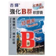 杏輝 強化B群軟膠囊 (60顆/盒)