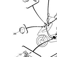 《零件坊》原廠繼電器 公司貨 YAMAHA RS 方向燈繼電器 方向斷續器總成