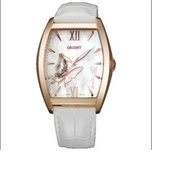 ORIENT LADIES AUTOMATIC ROSE GOLD WATCH WITH MOTHER OF PEARL DIAL DBAE002W