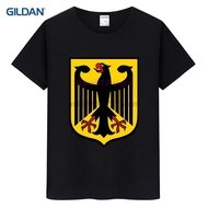 Deutschland German Flag Crest Germany Eagle Harajuku Design Template Design Designs Fitness Men's T-shirt