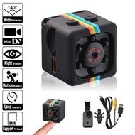 Spy Cam Mini Camera SQ11 HD Camcorder 1080P Night Vision Mini DV Kamera Keamanan Kamera Perekam Penglihatan Malam CCTV Mini Sambung Ke Hp CCTV Wifi Kamera Kecil Tersembunyi Kamera Pengintai Mini Kamera CCTV Mini CCTV Mini Tanpa Kabel