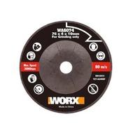 【WORX 威克士】76mm金切割/打磨研磨鋸片(WA6074)