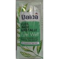 德國 Balea Fuss Bade Kristalle 抹茶泡腳粉