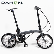 DAHON大行 EEZZ D3 16吋3速鋁合金輕量化快速折疊單車/自行車-霧灰