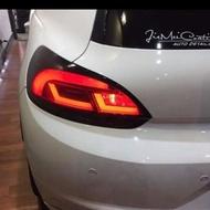 VW 福斯 scirocco 台灣製造,外銷尾燈,流水方向燈設計,有開關設定。