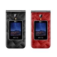 【原廠全配】MTO M68+二代 4G 老人機 孝親機 摺疊機 超大鈴聲 可觸控 臉書 LINE