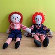 慢寓   美國風 安娜貝爾 Annabelle Raggedy Ann & Andy 安和安迪 一組 布娃娃 (厲陰宅)
