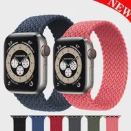Braided Solo Loop strap For Apple watch band 44mm 40mm iWatch 38mm/42mm FABRIC watchband bracelet applewatch series 6 5 4 3 SE