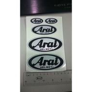 萊特 機車精品 ARAI 3M反光貼紙